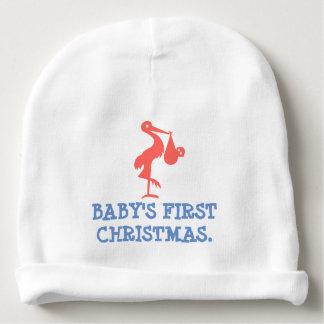 Gorrito Para Bebe El primer navidad del bebé - gorrita tejida de