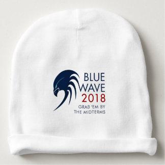 Gorrito Para Bebe Elección azul 2018 de plazo medio de la