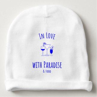 Gorrito Para Bebe En amor con la gorrita tejida del paraíso