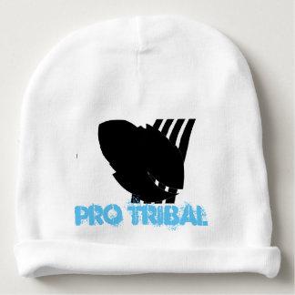 Gorrito Para Bebe Favorable gorrita tejida tribal azul del algodón