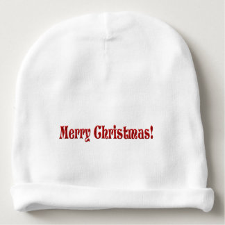 Gorrito Para Bebe Felices Navidad