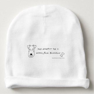 Gorrito Para Bebe fox terrier del alambre