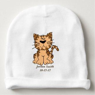 Gorrito Para Bebe Gatito lindo del Tabby del bebé