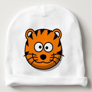 Gorrito Para Bebe Gato de tigre sonriente del dibujo animado
