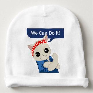 Gorrito Para Bebe Gato feminista
