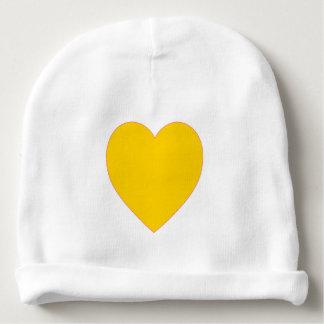 Gorrito Para Bebe Gorra amarillo del bebé de la gorrita tejida del