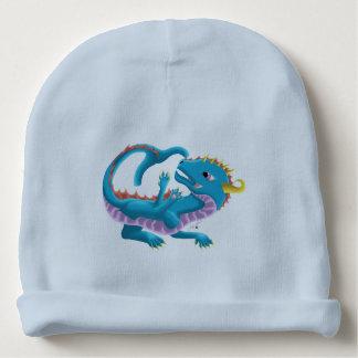 Gorrito Para Bebe Gorra del dragón del bebé del agua azul