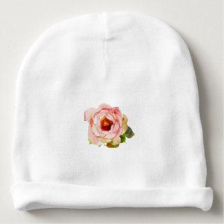 Gorrito Para Bebe Gorrita tejida del bebé de la flor del algodón