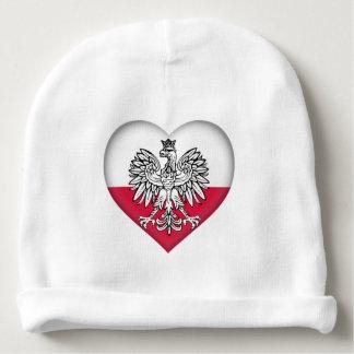 Gorrito Para Bebe Gorrita tejida polaca del amor