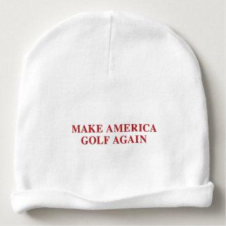 Gorrito Para Bebe Haga que América Golf otra vez