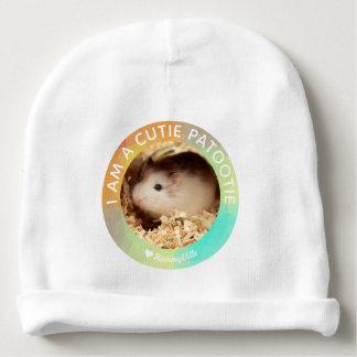 Gorrito Para Bebe HammyVille - hámster lindo soy un Cutie Patootie