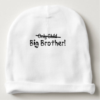 Gorrito Para Bebe Hermano mayor (hijo único cruzado hacia fuera)