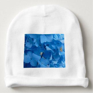 Gorrito Para Bebe Hydrangeas azules