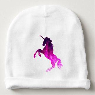 Gorrito Para Bebe Imagen brillante del unicornio hermoso rosado de