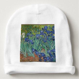 Gorrito Para Bebe Iris de Vincent van Gogh que pintan el trabajo de