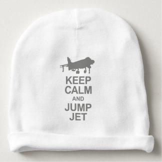 Gorrito Para Bebe Keep Calm and Jump Jet