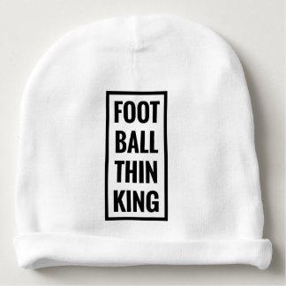 Gorrito Para Bebe ¿la bola del pie piensa el rey o el pensamiento