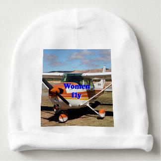 Gorrito Para Bebe Las mujeres vuelan: aviones de ala alta