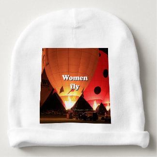Gorrito Para Bebe Las mujeres vuelan: globo 2 del aire caliente