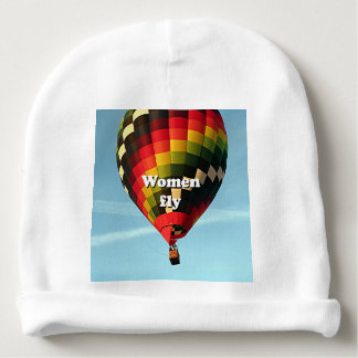 Gorrito Para Bebe Las mujeres vuelan: globo del aire caliente
