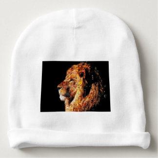 Gorrito Para Bebe León salvaje - collage del león - mosaico del león