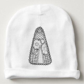 Gorrito Para Bebe Línea diseño de las pastillas de caramelo de la
