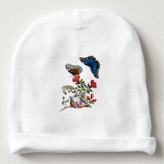 Gorrito Para Bebe Mariposas en la granada