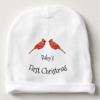 Gorrito Para Bebe Navidad del bebé de los cardenales el primer