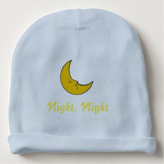 Gorrito Para Bebe Noche, noche, gorrita tejida de encargo del