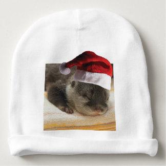 Gorrito Para Bebe Nutria soñolienta del navidad