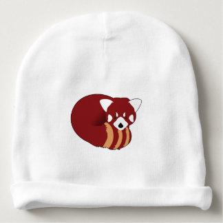 Gorrito Para Bebe Panda roja