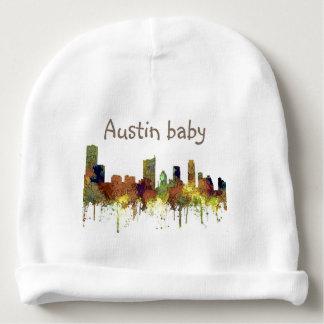 Gorrito Para Bebe Piel de ante del SG-Safari del horizonte de Austin