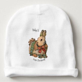 Gorrito Para Bebe Primera del navidad del bebé de conejito del