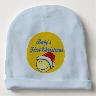 Gorrito Para Bebe Primera gorrita tejida del navidad del bebé