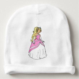 Gorrito Para Bebe Princesa hermosa en imagen rosada de las