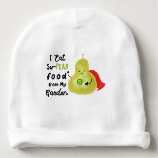 Gorrito Para Bebe Retruécano positivo de la pera - comida de SuPear