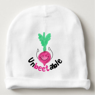 Gorrito Para Bebe Retruécano positivo de la remolacha - Unbeetable