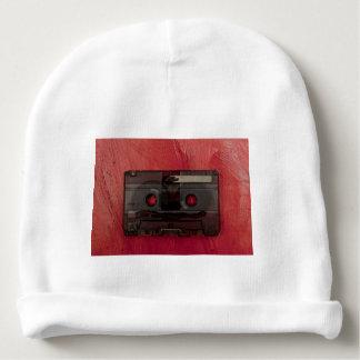 Gorrito Para Bebe Rojo del vintage de la música de la cinta de