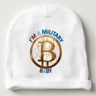 Gorrito Para Bebe Ropa militar del bebé de Bitcoin