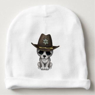 Gorrito Para Bebe Sheriff lindo del lobo del bebé