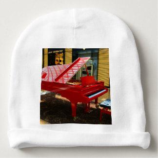 Gorrito Para Bebe Simplemente rojo: piano de cola
