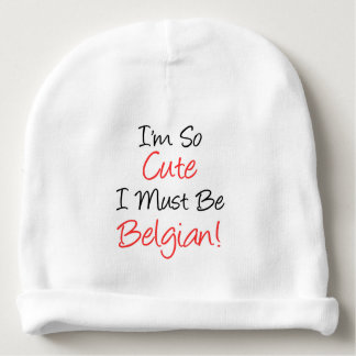 Gorrito Para Bebe Soy así que lindo debo ser gorra belga del bebé