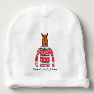 Gorrito Para Bebe Suéter del navidad Little Llama Funny Ugly de mamá