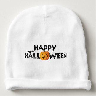 Gorrito Para Bebe Texto fantasmagórico del feliz Halloween con