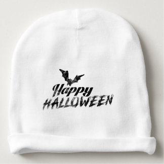 Gorrito Para Bebe Texto fantasmagórico del feliz Halloween y del