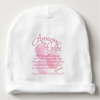 Gorrito Para Bebe Tolerancia asombrosa con los rosas rosados