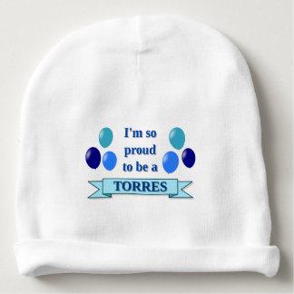 Gorrito Para Bebe TORRES (apellido) - bandera azul, globos