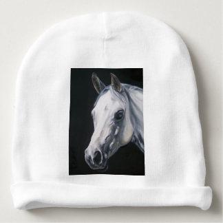 Gorrito Para Bebe Un caballo blanco