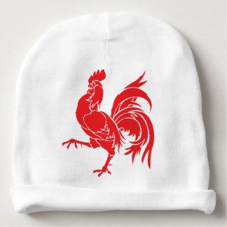 Gorrito Para Bebe Un gallo rojo