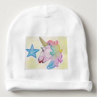 Gorrito Para Bebe unicornio del arco iris